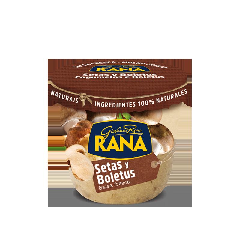 Salsa De Setas Y Boletus Giovanni Rana